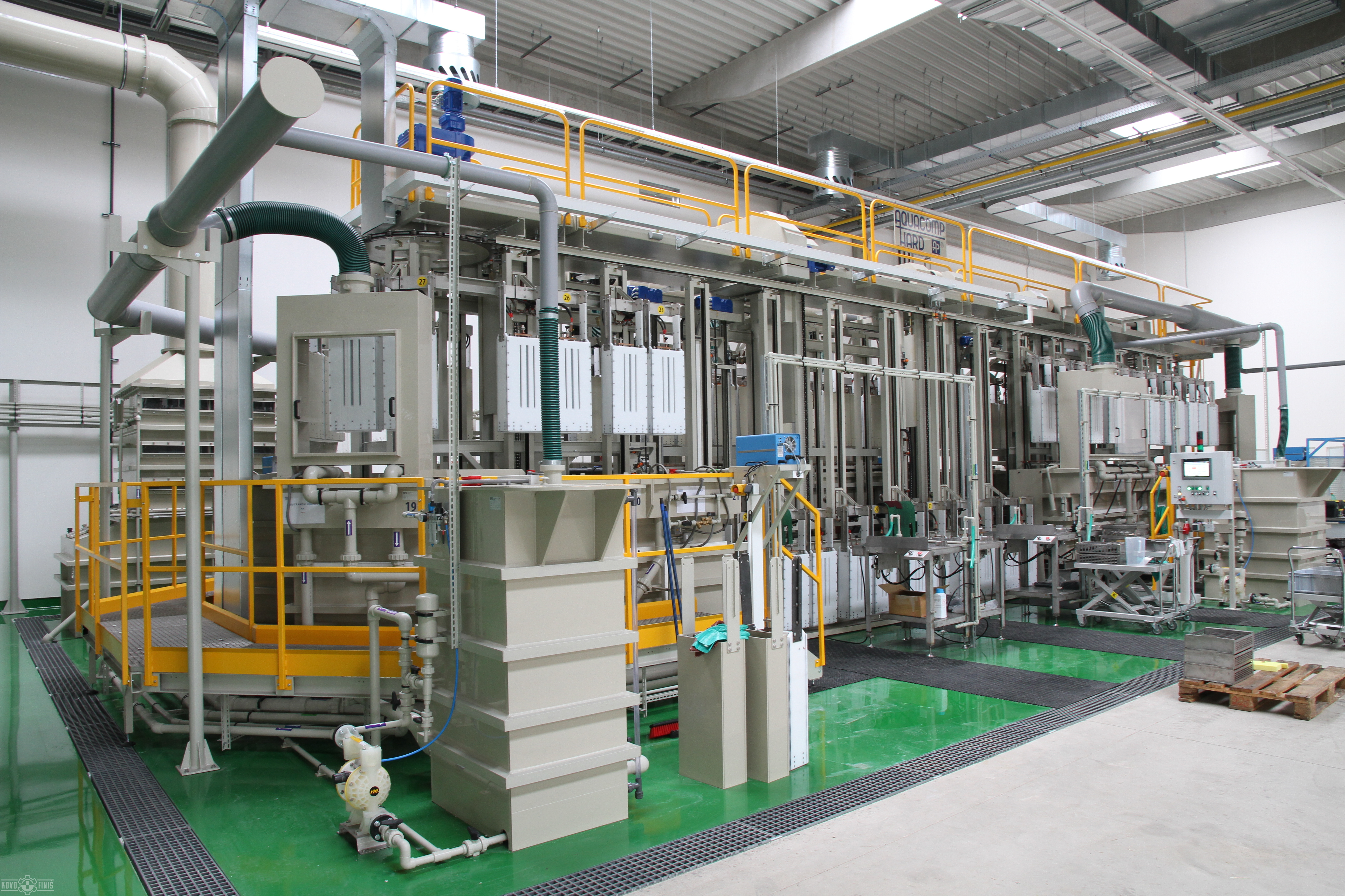 Electroplating Lines Kovofini Surface Treatment And
