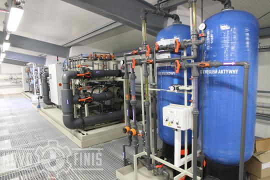 Ultrafiltration unit and active carbon filter