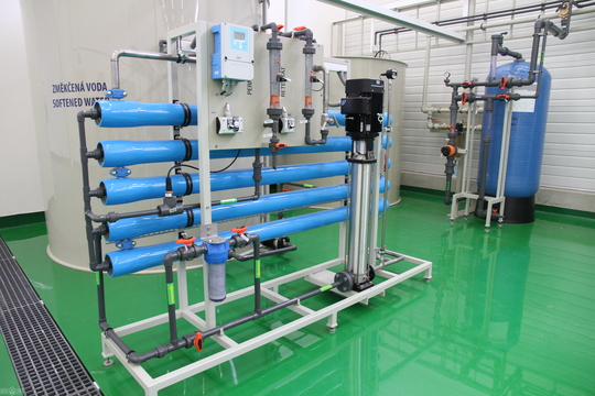 Reverse osmosis unit - RO