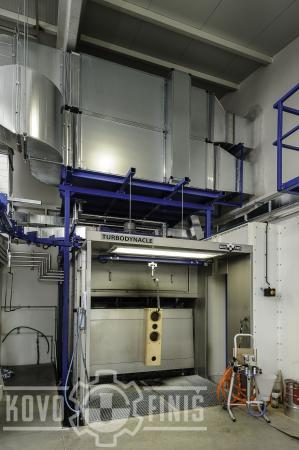 Paint coating line for reproductor bodies