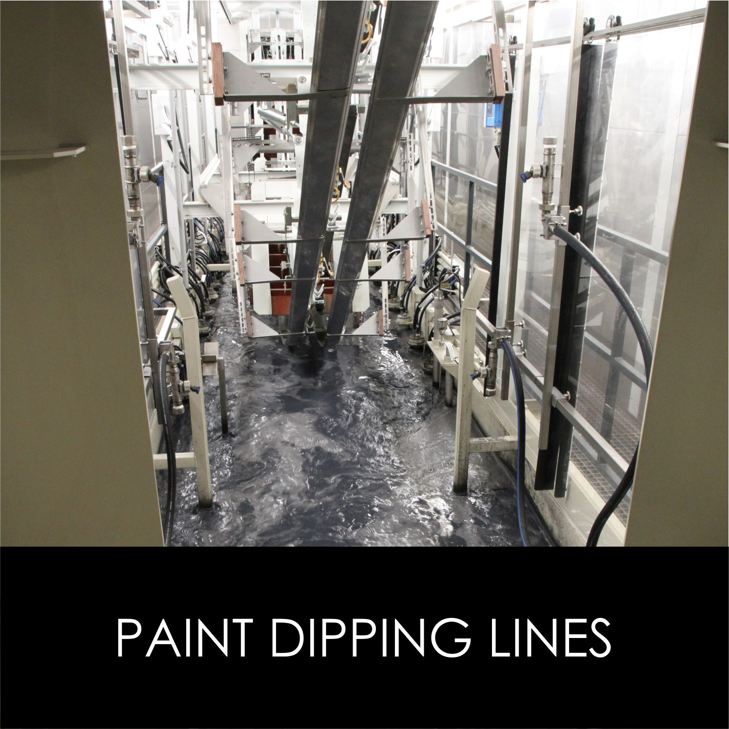 Paint dipping lines